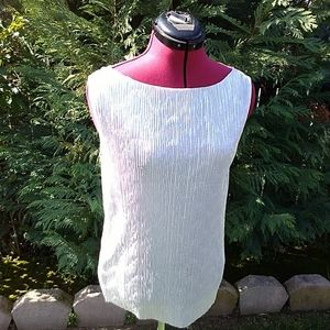 Silver Worthington blouse